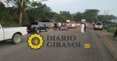 Ascienden a dos las féminas afectadas en embestimiento ocurrido en Cuyalí, El Paraíso; una de ellas falleció
