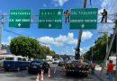 La AMDC prohibirá colocar rótulos de propaganda política en puentes y señales viales de la capital