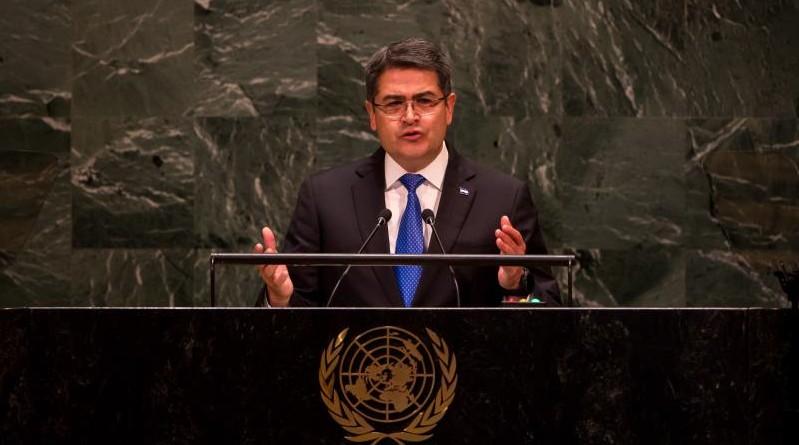 El presidente de Honduras participará en la Asamblea de la ONU